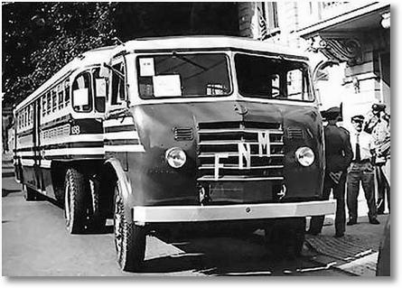 FNM ONIBUS 20 PAPAFILA 1957 CERMAVA