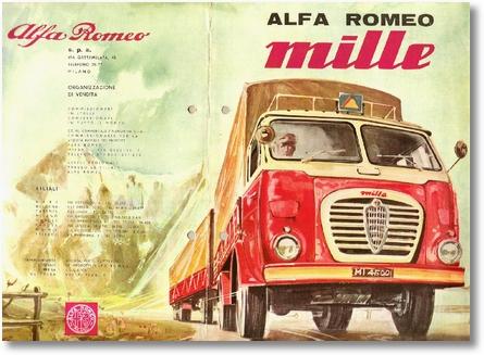 Ala Romeo Mille - 1958