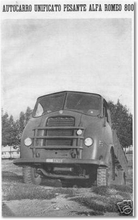 ALFA-ROMEO 800 (rivista 1942)