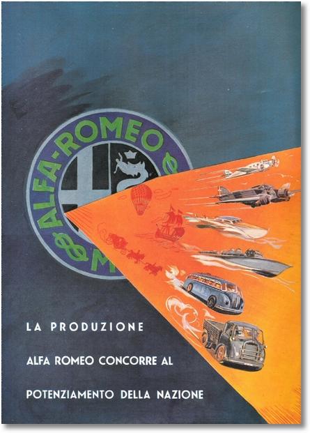 Alfa Romeo - Potenziamento della Nazione