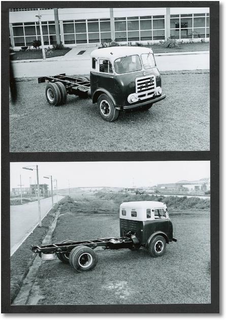 A Veloz - FNM Cabine Brasinca 1960 - Arquivo Michael Swoboda - Gentileza CEDOC-ANFAVEA