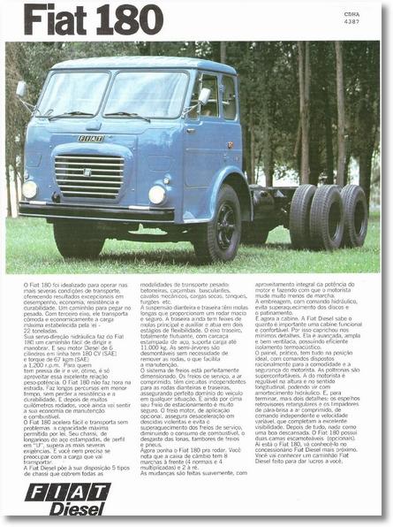 Fiat 180 - 1977 - 1 de 2