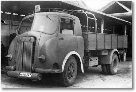 Tipo 800 mit Holzgasantrieb von 1940