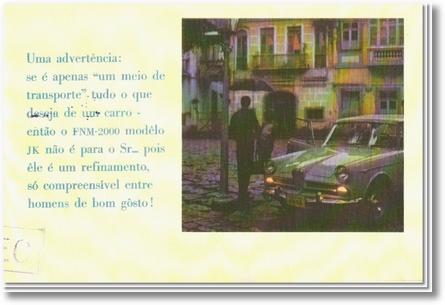 A FNM apresenta o JK - 1960 - 8 de 13