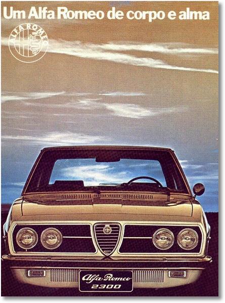 Alfa 2300 74 - lançamento