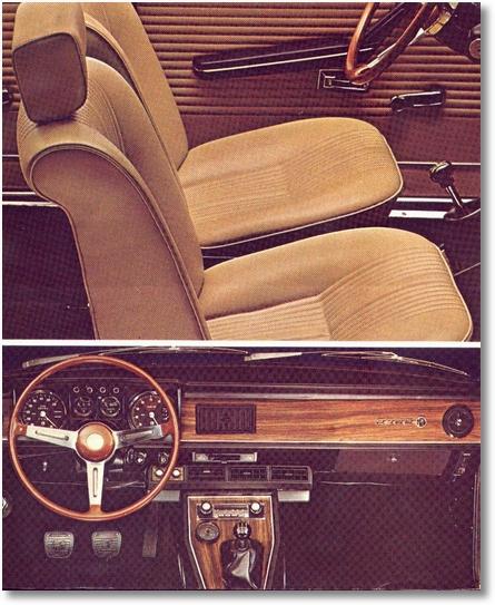 Alfa 2300 interior 74-76