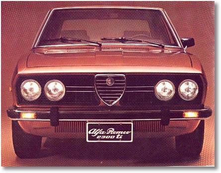 Alfa 2300 Ti 1977