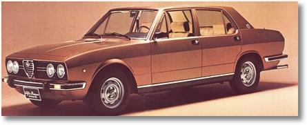 Alfa 2300 Ti 1977 lateral