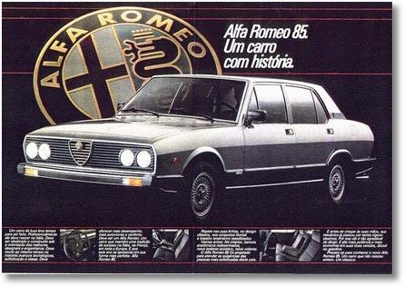 Alfa 2300 Ti 4 1985 propaganda