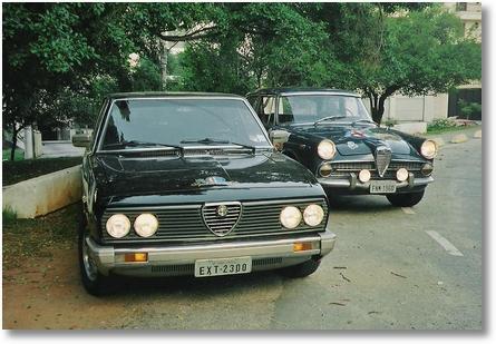 Alfas Nacionais - O Primeiro (1960) e o Ultimo (1986) -2