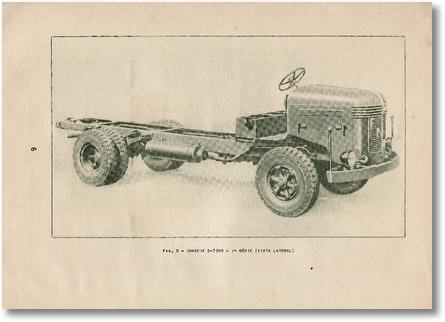 FNM D-7300 - Uso e Manutenção - Chassis - Vista lateral