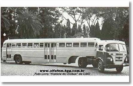 FNM ONIBUS 23 PAPAFILA CAIO 1955