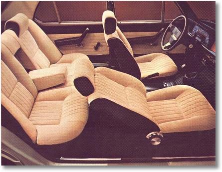 interior Alfa 2300 Ti 1977