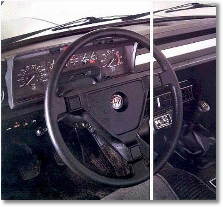 painel Alfa 2300 Ti4 1985 - 1986
