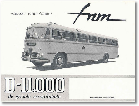 Chassis Onibus D-11000