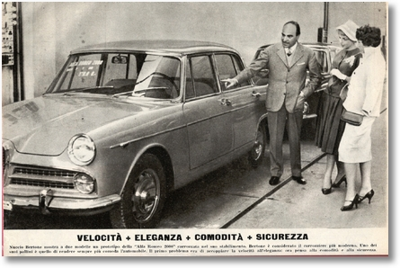 ANEXO 02 AR 2000 Berlina 1957 - Nuccio Bertone