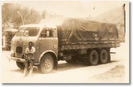 34 Nelson Buhrer (fnm 60 em 1974 - meu irmão já falecido, dono de muitos fnm, um quarto eixo com quinta marcha