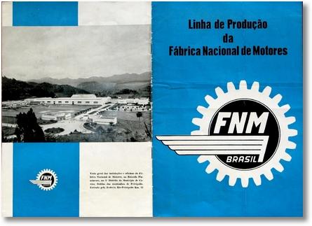 Linha de Produção FNM - 1 de 10