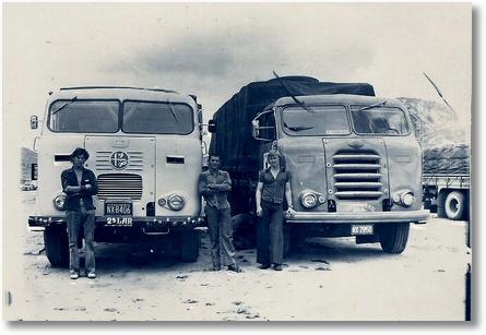 7 - fnm (lado direito Chaparral ano 60 - Valdir Muller em viagem a Natal em 1978)-fnm 66 em 1991 hoje o sucatrotter do Marcio Simioni