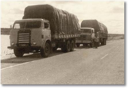 Antenor Stonoga carregado de algodão em seu FNM