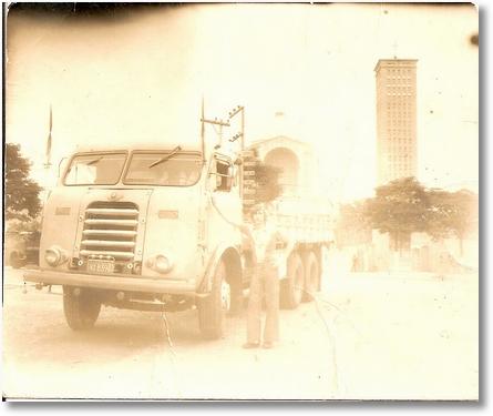 Ito Bir em Aparecida do Norte 1975 - FNM 62 Bonanza
