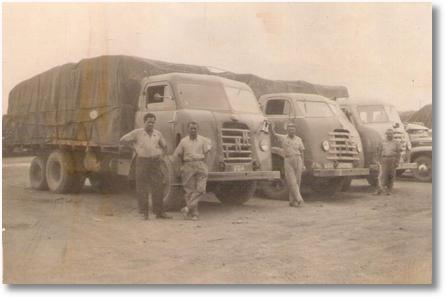 1º Motorista Mingão, 2º Tonico Zen, 3º Paulo Stankevecz e o 4º Desconhecido