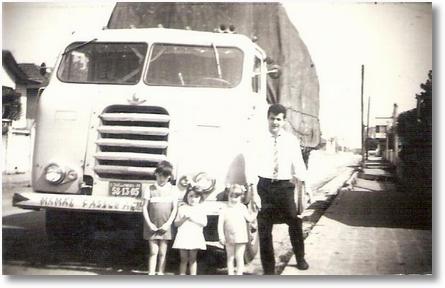 FNM 59 - São José dos Pinhais 1969 - Lucimara, Josiane, Tania e Dejanir Valaski