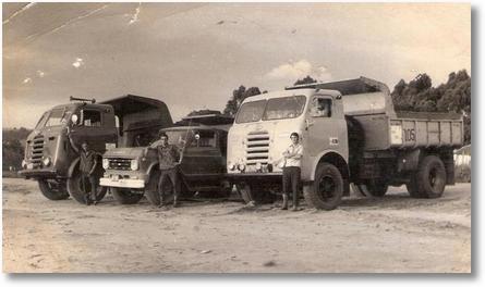 FNM 62 branco - Motorista Mosquito (José Roberto) - Chevrolet 70 Motorista Adir Costa e FNM 64 Motorista Roberto Kraus (em Memoria)