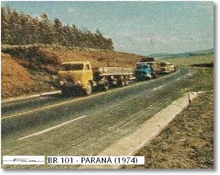 FNM na BR 101 - Paraná (1974)