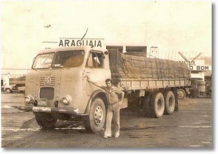 FNM proprietário Adir Valaski, motorista Zeno - Jequié-BA em 1977