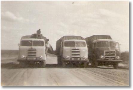 Nene, Carlito Bortolan e Ari Cardozo - São José dos Pinhais a Recife 15 dias em 1965