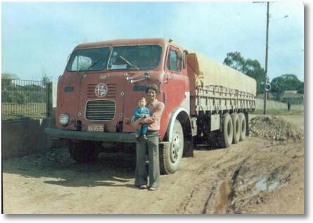 FNM 4º eixo ano 1971 - Carlito Moro e seu filho Luiz Fernando em 1979 - Vendido para Nelson Buhrer Machado irmão do Ito Bir