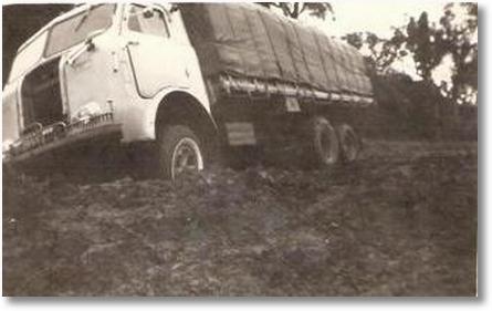 FNM 58 - Uylton Ricardo Soares - Estrada Porto União para Canoinhas em 1966