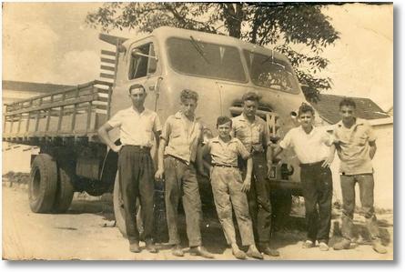 Celso Valaski, Floriano, Nero, Lucas Trevizan, Alemãozinho com o FNM - 1958
