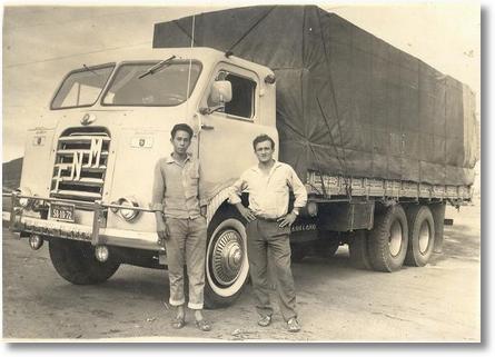 FNM 1960 - Dinarte e Celso Valaski em Milagres com o Ben Hur
