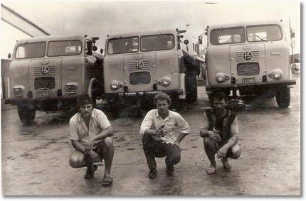 FNM 62 - 59 - 58 Canuto, Santo Garbuio e João Maria Machado em Jequié - BA - 1975