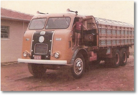 FNM 62 Proprietario Adir Costa, na foto Luis Costa em 1977
