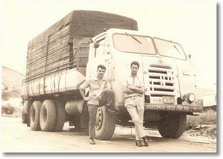 FNM 64 - Lourival da Silveira (Lula) e Mirto Poeira - Aparecida do Norte em 1968