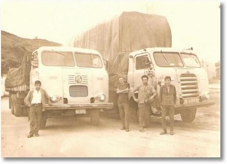 FNM 66 e FNM 58 Osmar (Boneca), Pedro Medalha, Livir Filipac, Antonio Dirceu Lima, José Airto de Assis. Em 1972