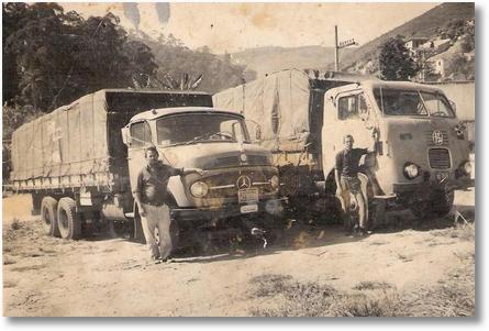 José Pilotto no FNM 66 Proprietario Chico Freitas e Nego Ari em Aparecidad o Norte 1970