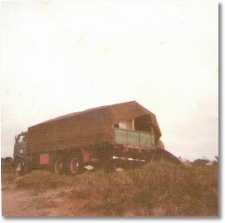 Luiz Dissenha - Praia de Itapoá em 1976