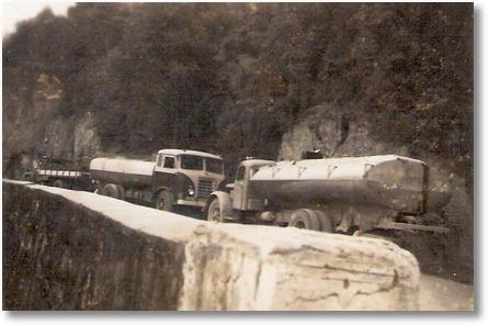 Serra São Luis do Purunã - PR em 1960