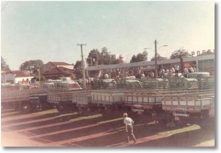 Arapongas PR em 1967 - Greve por melhores estradas