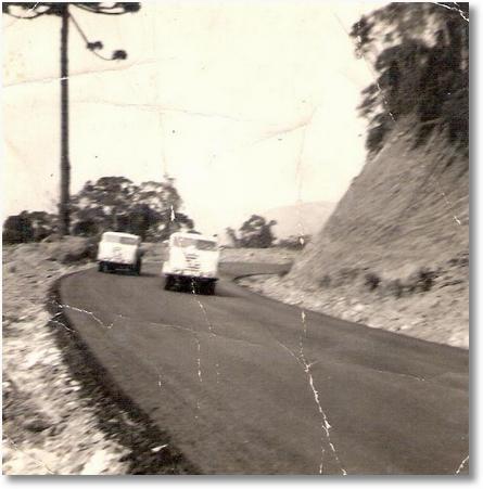 FNM 63 - Orestes Pichorin (Diabinho) Serra do Relogio - PR BR 277 em 1967