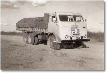 FNM 66 - Antonio Maoski (Tinindo) Araripina PE carga de arroz para RJ