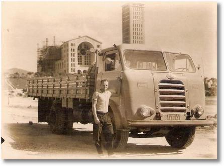 FNM - Rodolfo Sari (Em memória) Em Aparecida do Norte - Igreja em construção