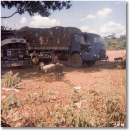 FNM 180 76 - Arnoldo Luis Weber em Alta Floresta - MT em 1986