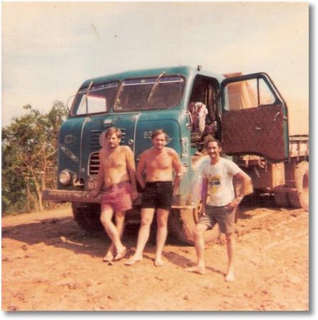 Fnm 1960 - Luis Carvalho e amigos - Sorriso MT em 1983