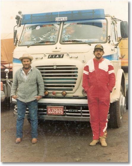 FNM 210 73 - EM 1985 - Rubens Barbosa e Antonio Tozo - São José dos Pinhais