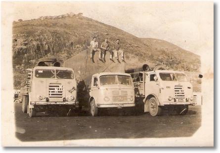 FNM 63 e 62 - Antonio Gonçalves dos Santos e Valdir Aramis - Milagres BA em 1964
